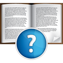 Book Help - icon gratuit(e) #191051