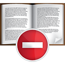 Book Remove - Free icon #191061