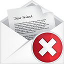 Courrier ouvert Delete - Free icon #191091