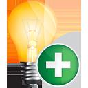 Light Bulb Add - Free icon #191121