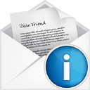 Info ouverture courrier - Free icon #191131