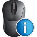 Mouse Info - icon gratuit #191161