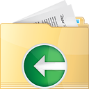 Folder Previous - icon gratuit #191311