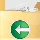 Folder Previous - Free icon #191311
