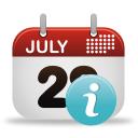 infos de l'événement - icon gratuit #192001