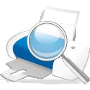 búsqueda de la impresora - icon #192201 gratis