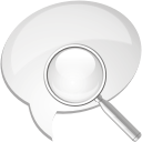 Comment Search - Free icon #192481