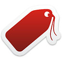 Tag - icon #192901 gratis