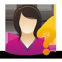 Female User Help - Free icon #193041