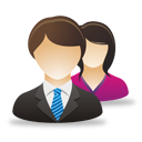 Business Male Female Users - Free icon #193061
