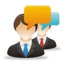 Business Users Comments - icon gratuit #193261