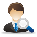 Search Business User - Free icon #193281