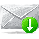 Mail Receive - icon gratuit(e) #193351