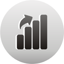 Chart Up - Free icon #193511