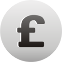 Sterling Pound Currency Sign - icon #193551 gratis