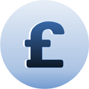 signe de monnaie de livre sterling - icon gratuit #193711