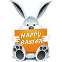 Happy Easter Bunny - Free icon #193851