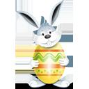 Conejo amarillo del huevo - icon #193871 gratis
