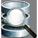 Suche in der Datenbank - Kostenloses icon #193981