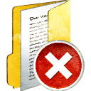 Folder Full Delete - icon gratuit #194011