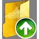 Folder Up - Free icon #194021