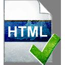 HTML-страницы принимает - бесплатный icon #194031
