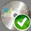 CD aceptar - icon #194221 gratis