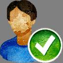 Пользователь принимает - Free icon #194241