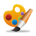 Paleta Brush - Free icon #194261