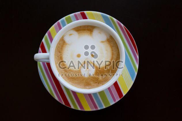 Café latte art - Free image #194361