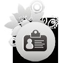 tarjeta de identificación - icon #194421 gratis