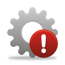 Process Warning - icon gratuit #194561