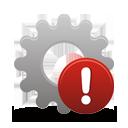 процесс предупреждение - бесплатный icon #194561