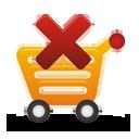 remover do carrinho de compras - Free icon #194891