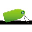 etiqueta verde - icon #194961 gratis