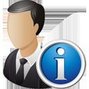 Бизнес информация о пользователе - бесплатный icon #195211