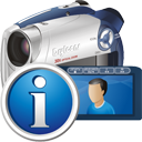 digitale Camcorder-info - Free icon #195311