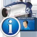 Цифровая видеокамера информация - Free icon #195311