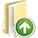 Folder Up - icon #195361 gratis