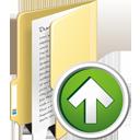 Папка вверх - бесплатный icon #195361