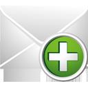 Mail hinzufügen - Free icon #195461