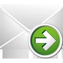 correo siguiente - icon #195471 gratis