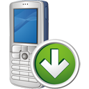 Handy nach unten - Free icon #195491