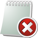 Notebook Delete - Free icon #195531