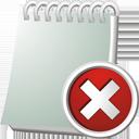 Notebook Delete - Free icon #195531