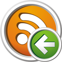 RSS zurück - Kostenloses icon #195641