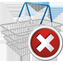 Eliminar del carrito de compras - icon #195671 gratis