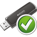 Usb Stick Accept - icon gratuit #195701