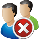 Users Delete - icon gratuit(e) #195721
