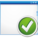 Window Accept - icon gratuit(e) #195741
